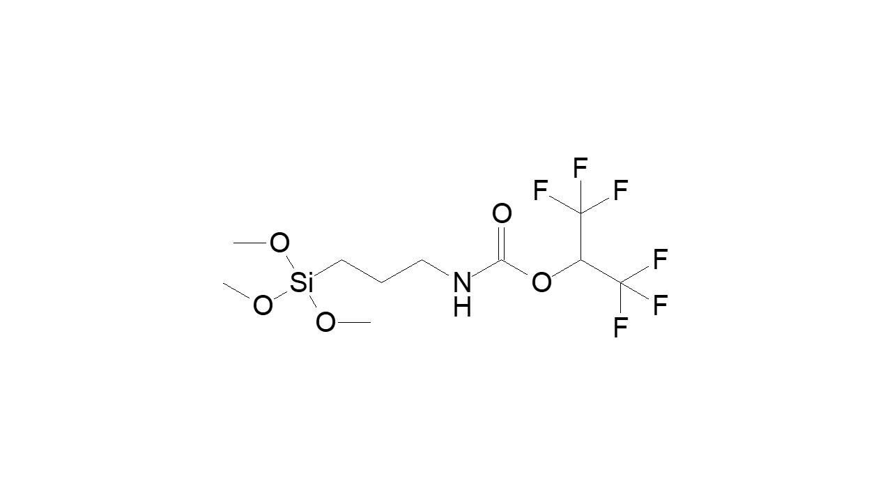 Trifluoro-1-(trifluoromethyl)ethyl [3-(trimethoxysilyl)propyl]carbamate thumbnail