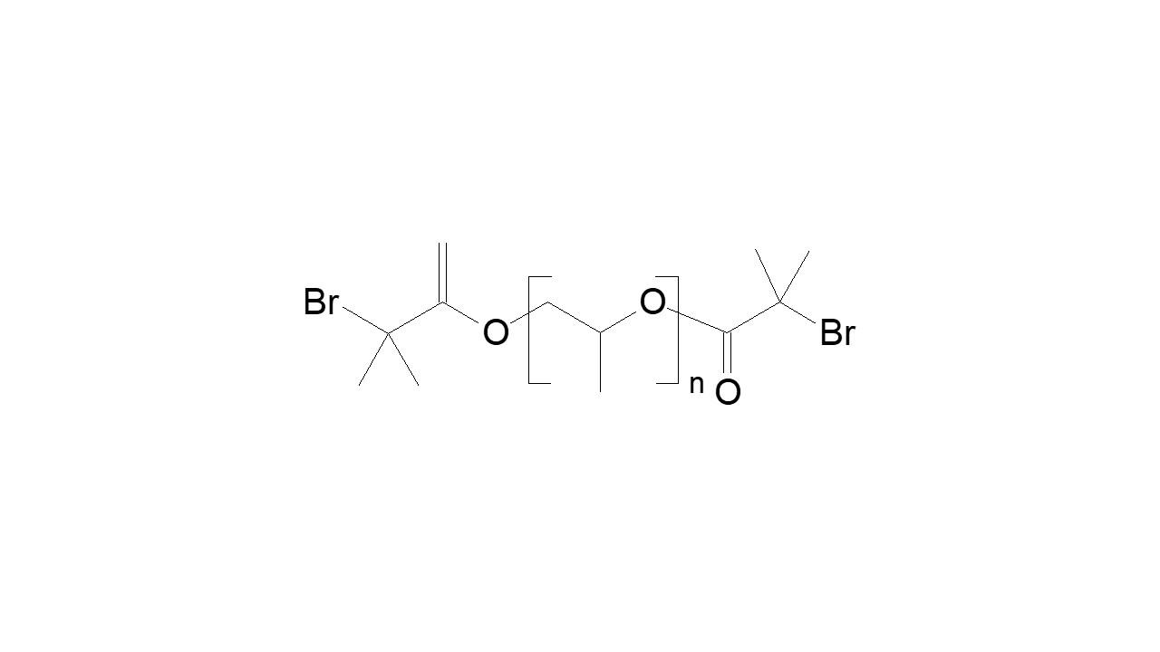Poly(propylene glycol), α,ω-bis(bromomethyl propanoate) thumbnail