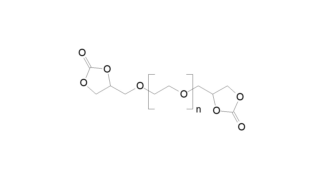 Poly(ethylene glycol), α,ω-bis(cyclocarbonate) thumbnail