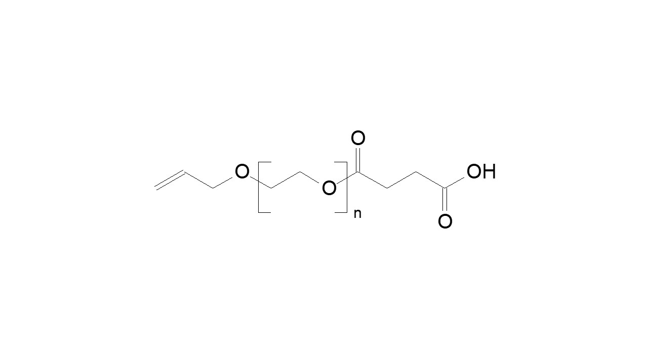 Poly(ethylene glycol), α-allyl, ω-carboxylic acid thumbnail