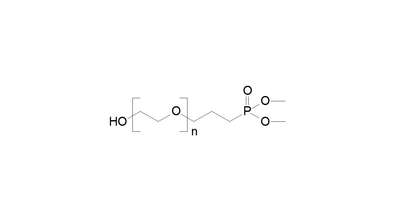 Poly(ethylene glycol), α-hydroxy, ω-dimethyl phosphonate thumbnail