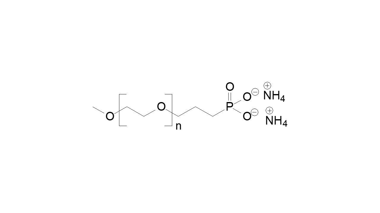 Poly(ethylene glycol), α-methoxy, ω-ammonium phosphonate thumbnail