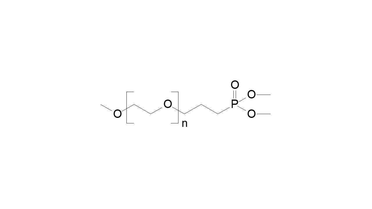 Poly(ethylene glycol), α-methoxy, ω-dimethyl phosphonate thumbnail