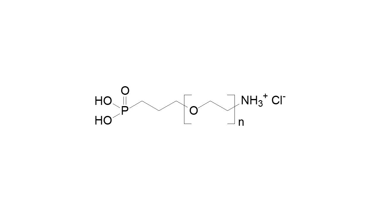 Poly(ethylene glycol), α-ammonium chloride, ω-phosphonic acid thumbnail