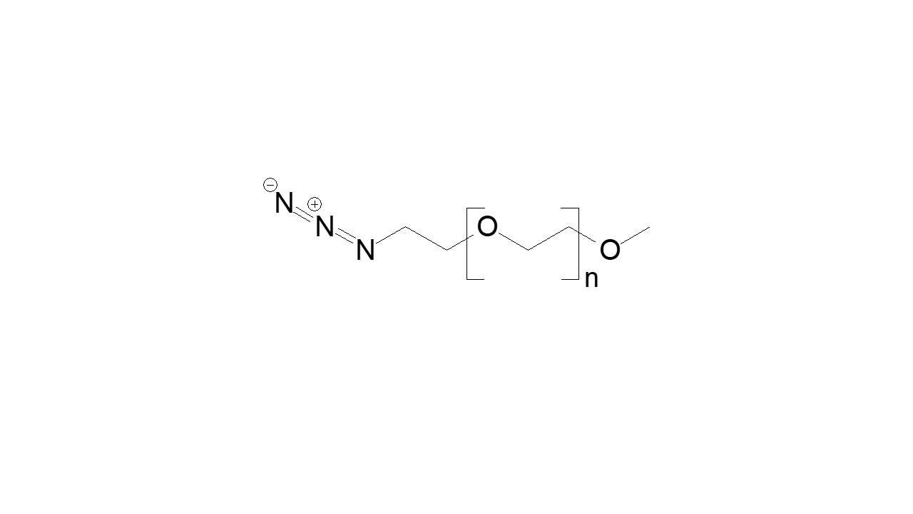 Poly(ethylene glycol), α-methoxy, ω-azide thumbnail
