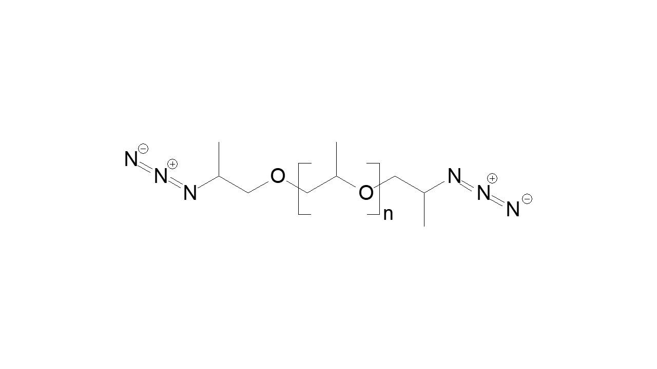 Poly(propylene glycol), α,ω-bis(azide) thumbnail