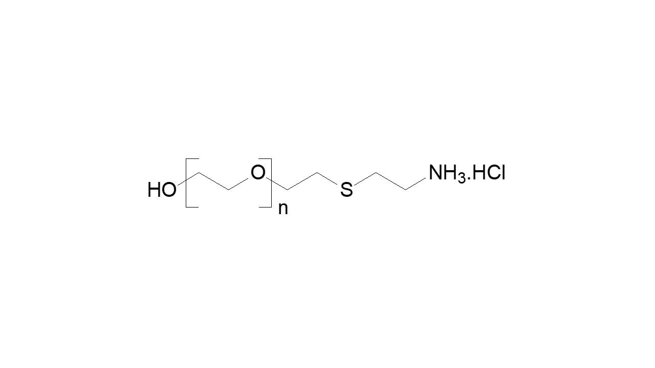 Poly(ethylene glycol), α-hydroxy, ω-amine thumbnail