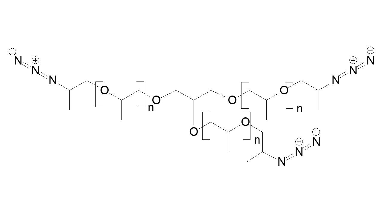 Poly(propylene glycol) tris(azide) thumbnail