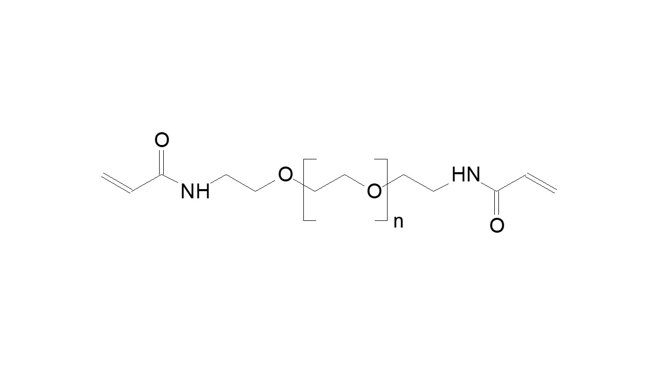 Poly(ethylene glycol), α,ω-bis(methacrylamide) thumbnail