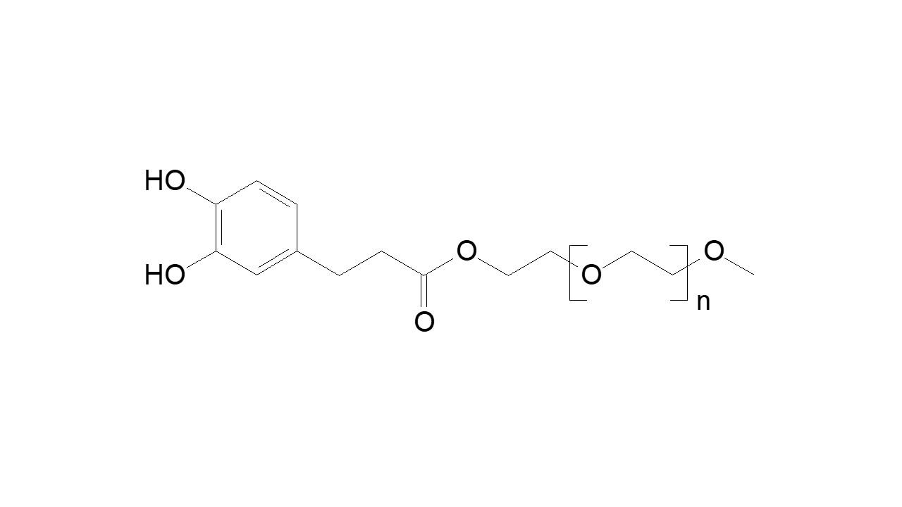 Poly(ethylene glycol), α-methoxy, ω-cathecol thumbnail