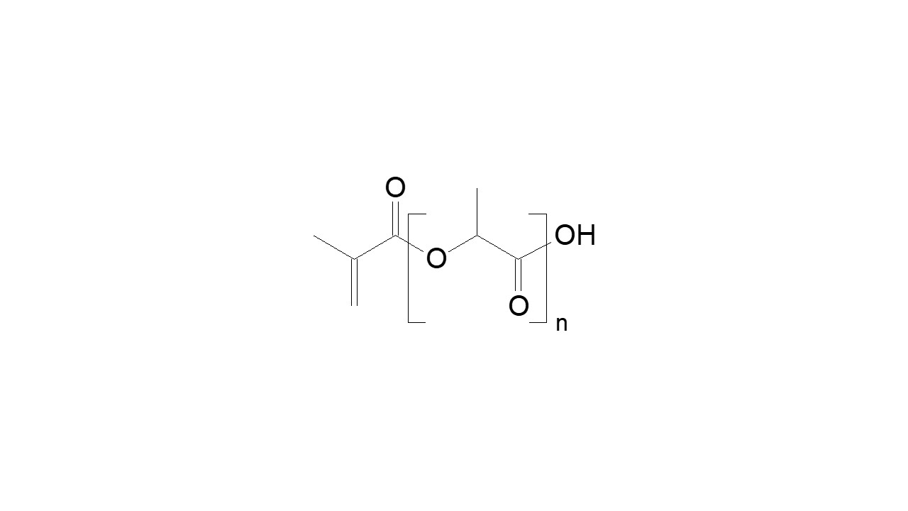 Poly(lactic acid), α-hydroxy, ω-methacrylate thumbnail