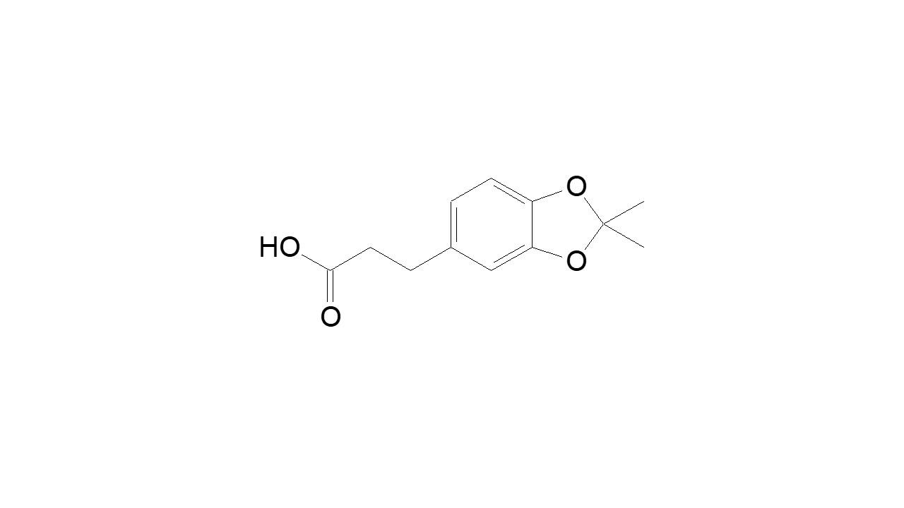 2,2-Dimethyl-1,3-benzodioxole-5-propanoic acid thumbnail