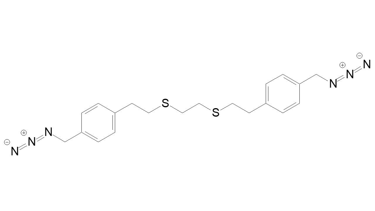 1,8-(Azidomethyl)phenyl, 3,6-Dithiaoctane thumbnail
