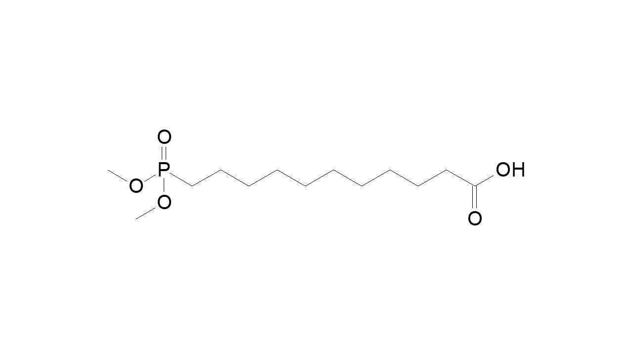 11-(Dimethoxyphosphinyl)undecanoic acid thumbnail