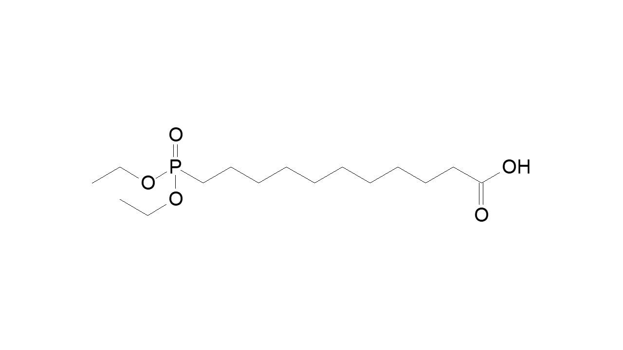 11-(Diethoxyphosphinyl)undecanoic acid thumbnail