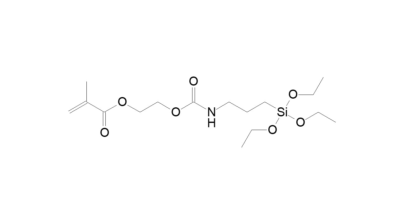 (Triethoxysilyl)propylcarbamate ethyl methacrylate thumbnail
