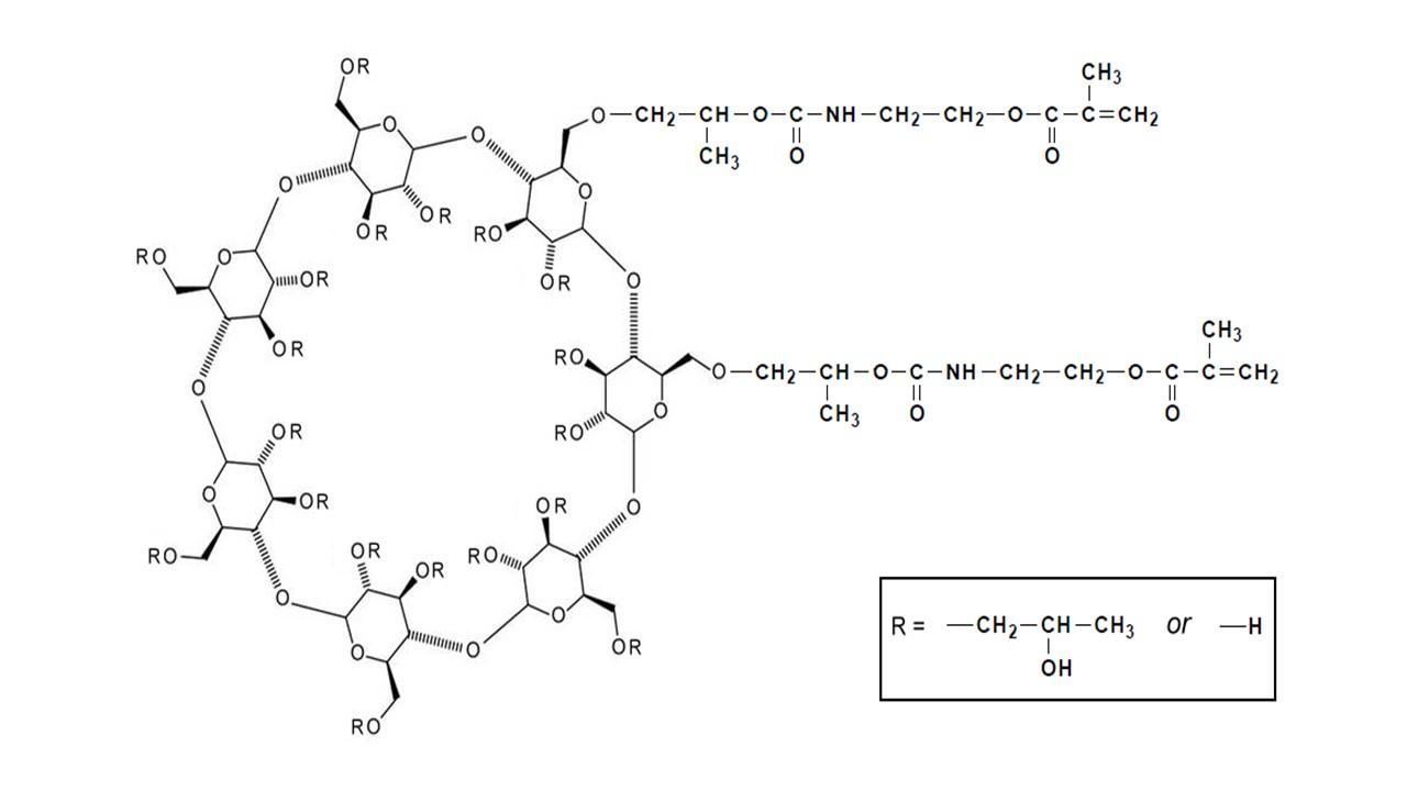 Hydroxypropyl β-Cyclodextrin methacrylate thumbnail