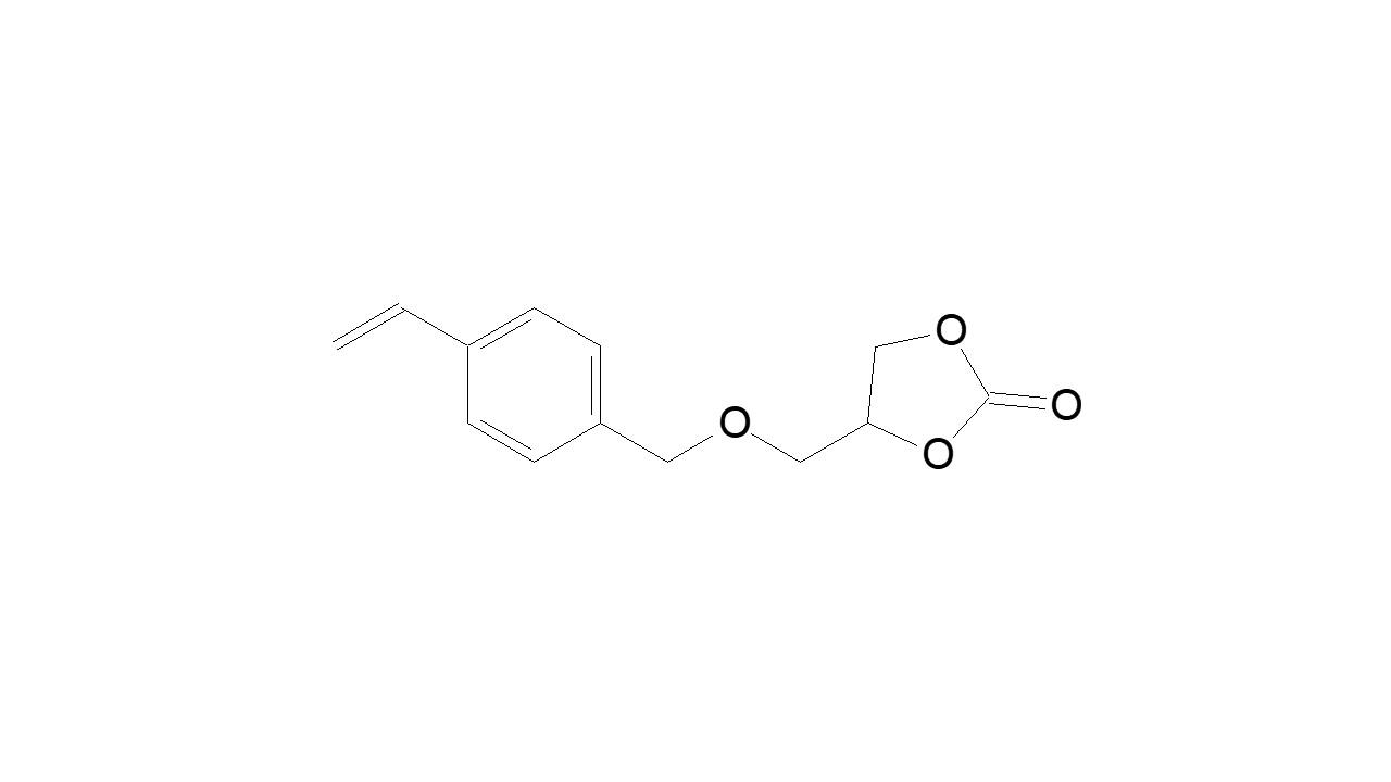 4-Vinylbenzyl glycidyl cyclocarbonate thumbnail
