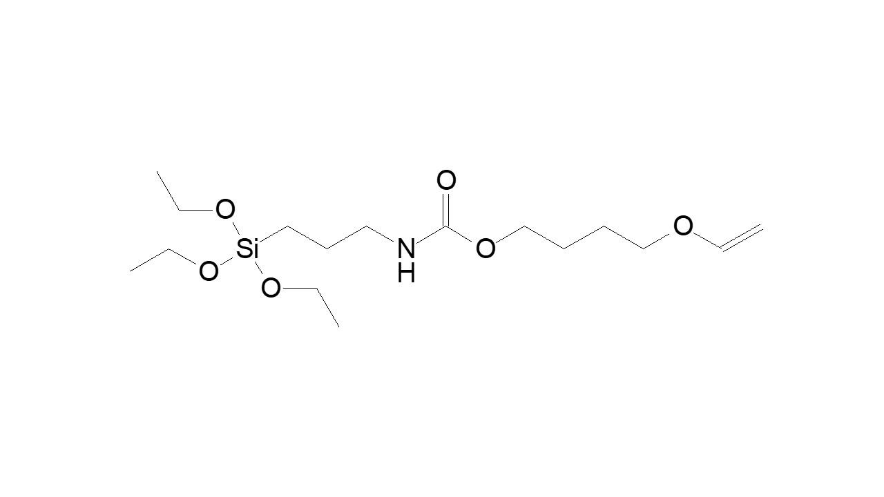 (Triethoxysilyl)propylcarbamate butyl vinyl ether thumbnail