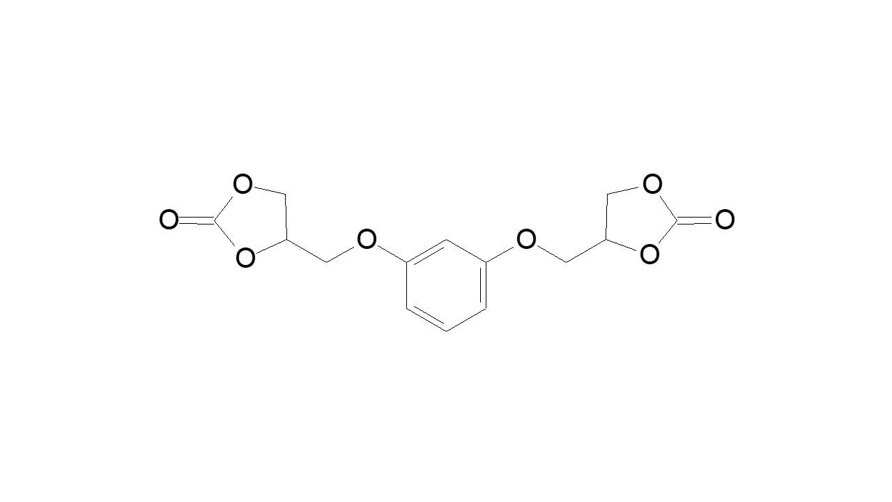Resorcinol bis(cyclocarbonate) thumbnail