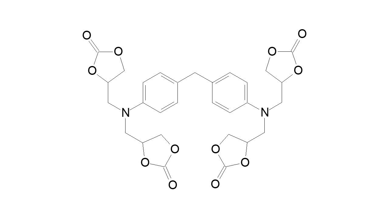 Methylene dianiline tetra(cyclocarbonate) thumbnail