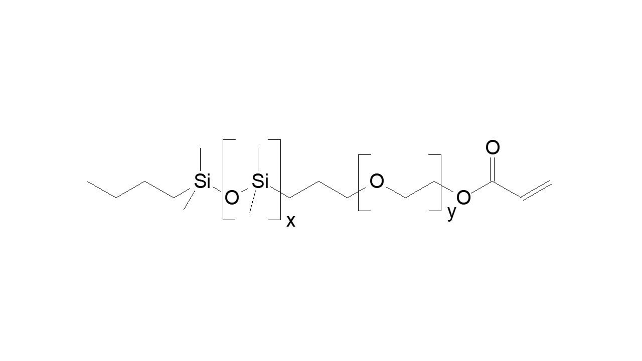 PDMS-block-PEG, α-butyl, ω-acrylate thumbnail