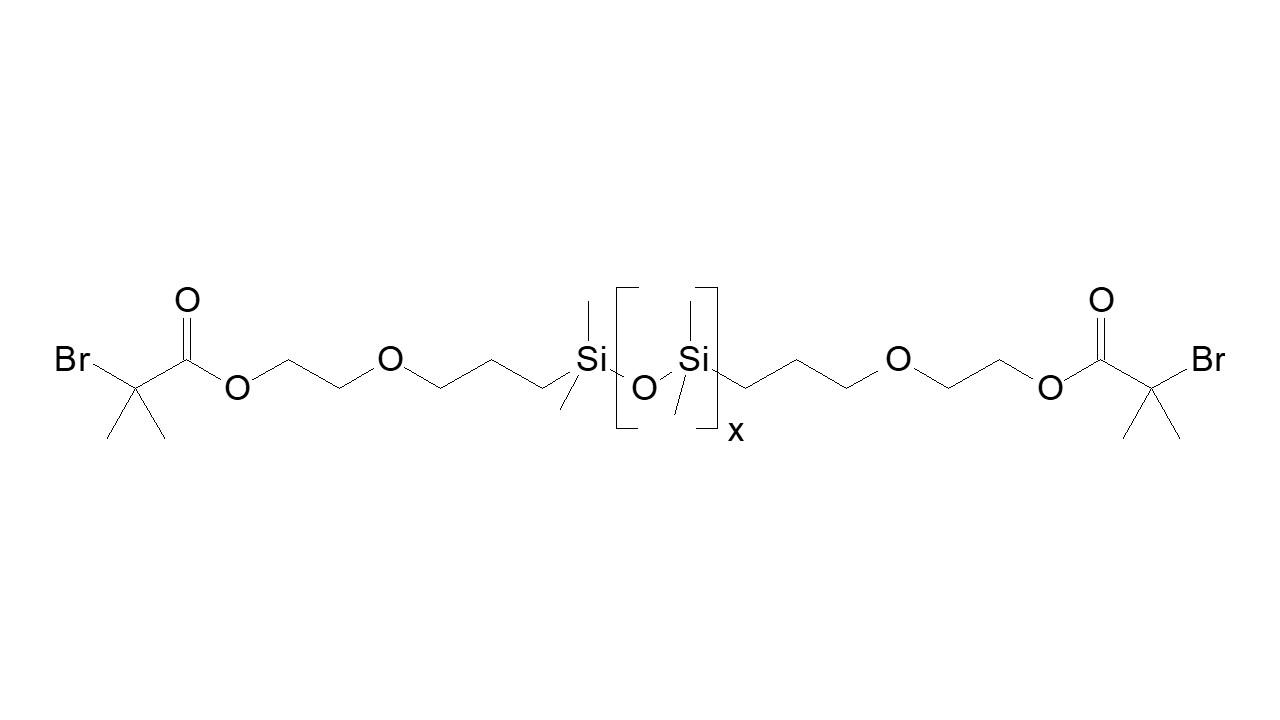 PDMS, α,ω-bis(bromo methylpropionate) thumbnail