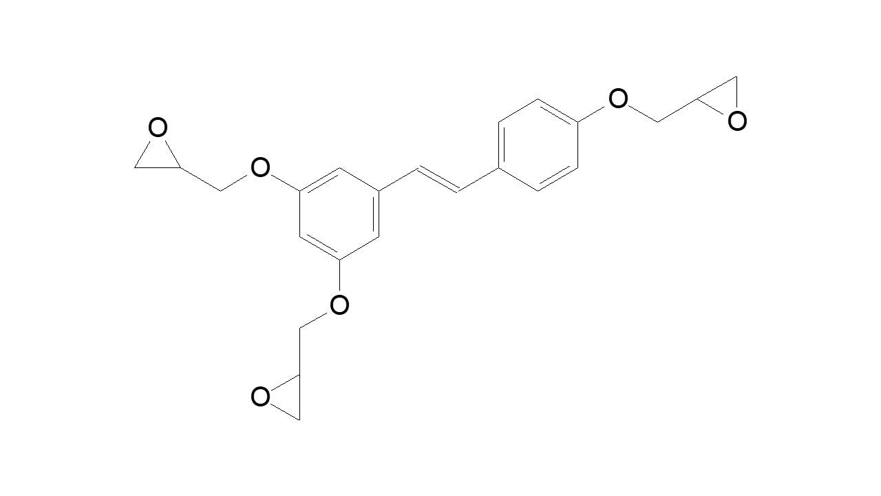 Resveratrol triglycidyl ether thumbnail